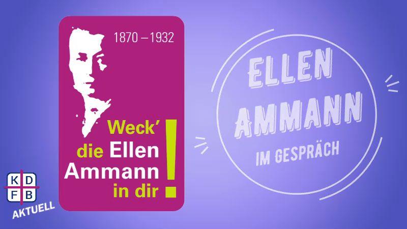 Ellen Ammann im Gespräch zum aktuellen Zeitgeschehen