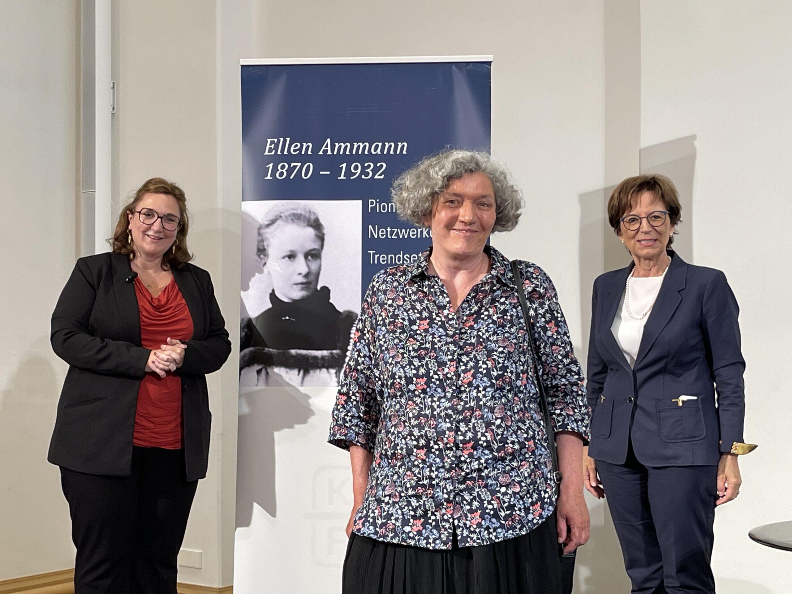 Ellen-Ammann-Preisträgerinnen 2021 mit der KDFB-Landesvorsitzenden Emilia Müller
